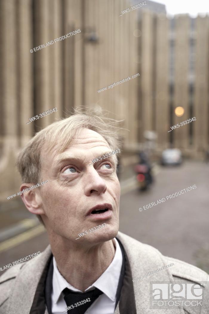 Stock Photo: man feeling amazed.