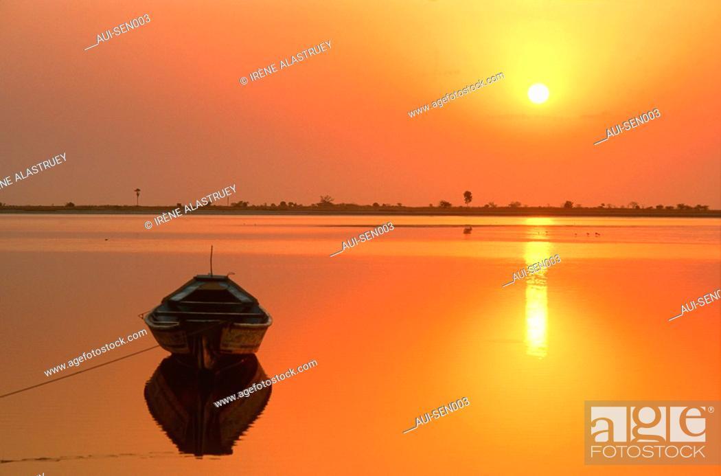 Stock Photo: Senegal - Delta du Sine-Saloum - Region Fatick.