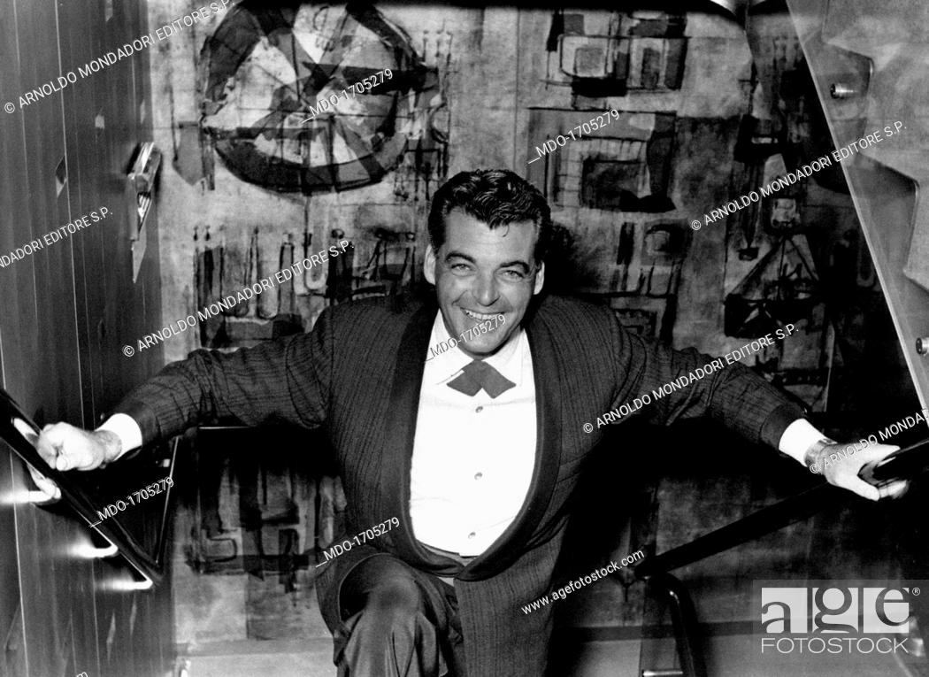 Rory Calhoun Climbing The Stairs Famous American Cinema And TV