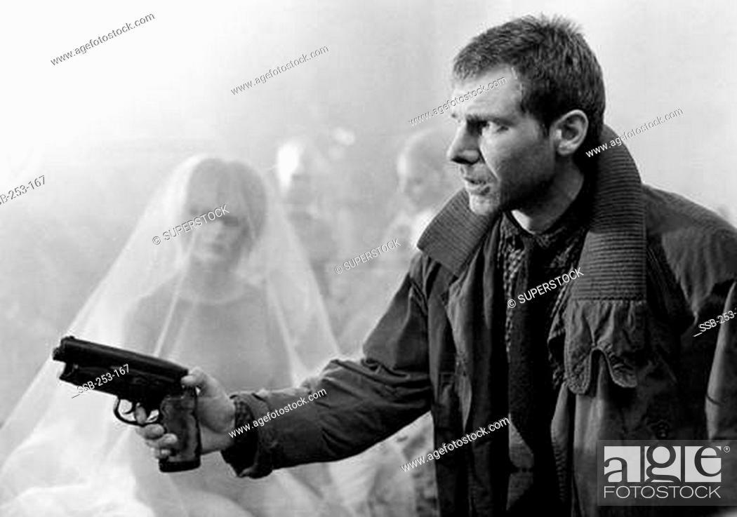 Stock Photo: Harrison Ford, Blade Runner, 1982.
