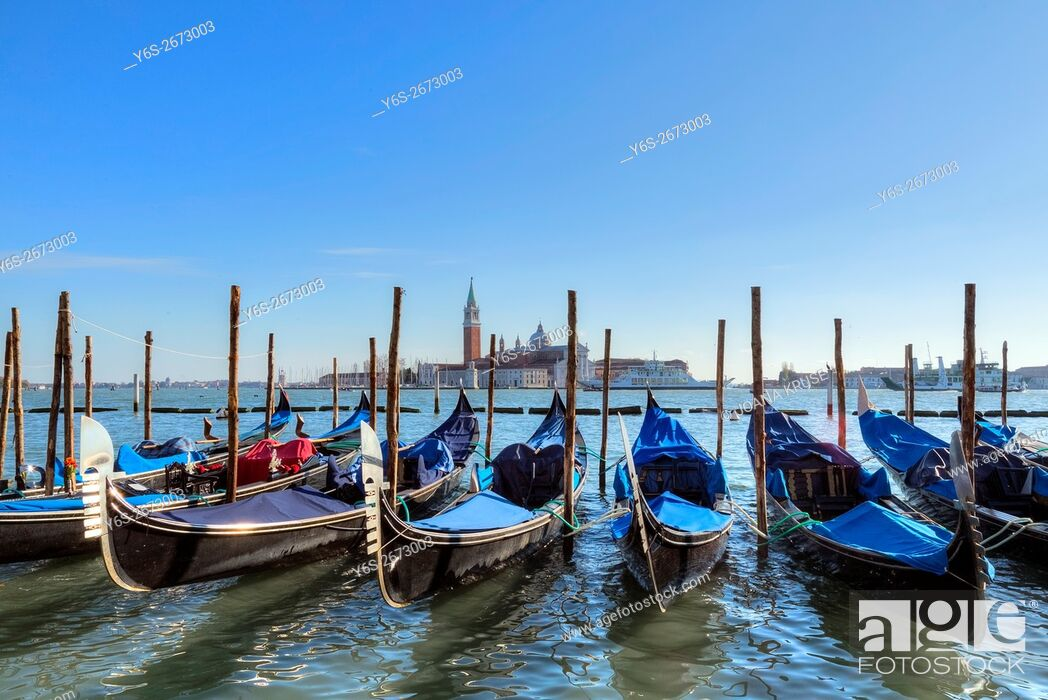Stock Photo: San Giorgio di Maggiore, Venice, Veneto, Italy.