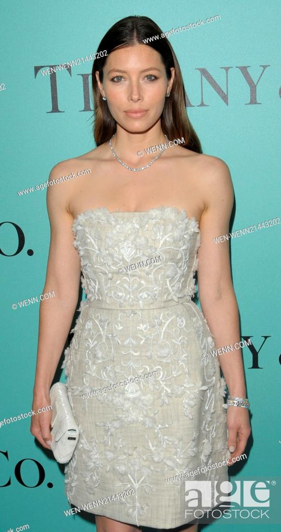 0af189b51a1 Stock Photo - Jessica Biel attends the Tiffany   Co. store launch in Paris  Featuring  Jessica Biel Where  Paris
