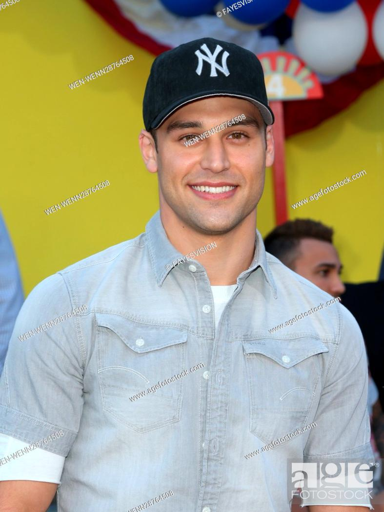 """Stock Photo: Premiere Of Sony's """"""""Sausage Party"""""""" Featuring: Ryan Guzman Where: Westwood, California, United States When: 09 Aug 2016 Credit: FayesVision/WENN.com."""