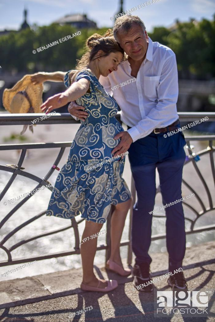 Couple Pregnancy Romantic Age Difference Love Munich Germany Stock Photo Picture And Rights Managed Image Pic Vp7 3065723 Agefotostock