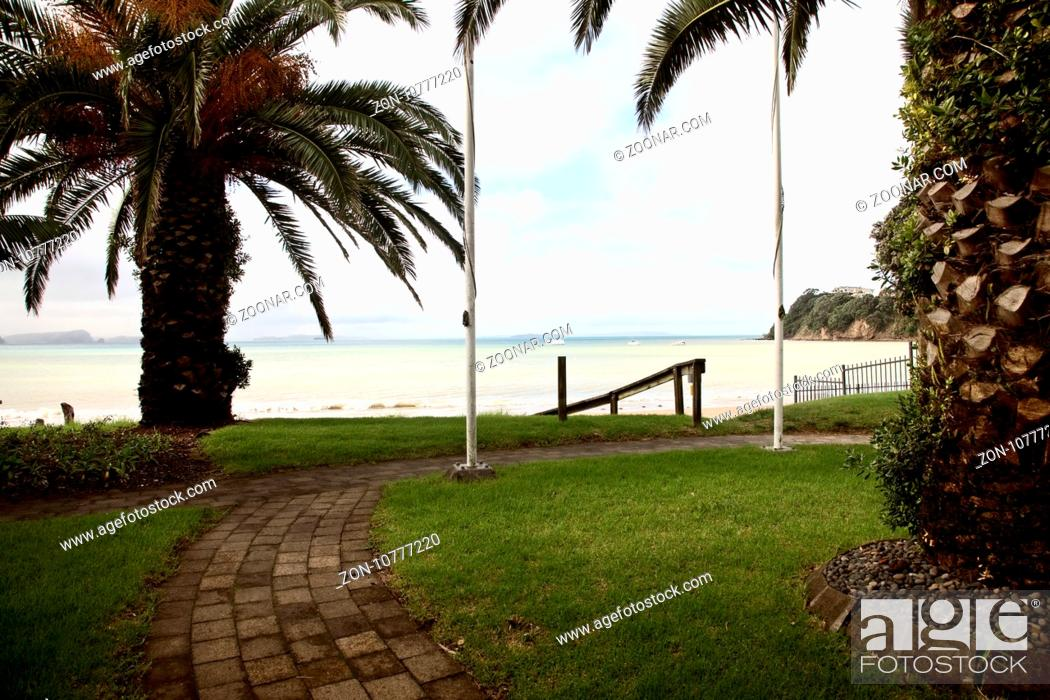 Imagen: Stanmore Bay New Zealand beach front town.