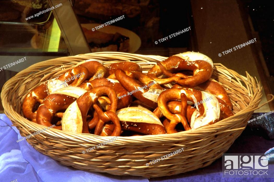 Stock Photo: Germany - Black Forest - Bretzels.