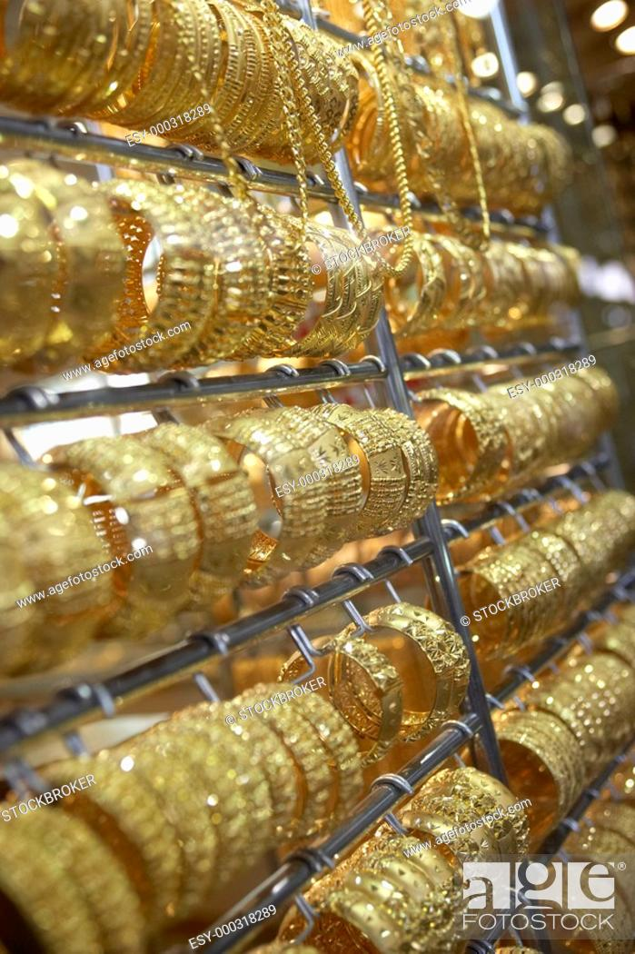 Dubai,Gold Souk, Stock Photo, Picture And Low Budget Royalty Free