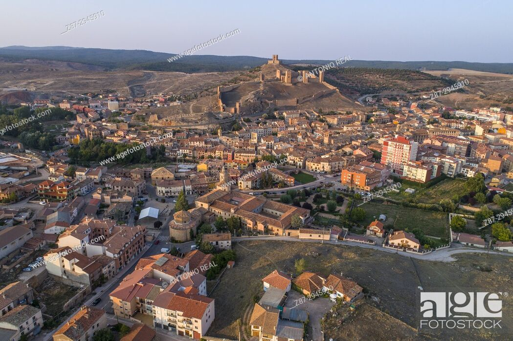 Stock Photo: Molina de Aragón, Guadalajara Province, Aragon, Spain.