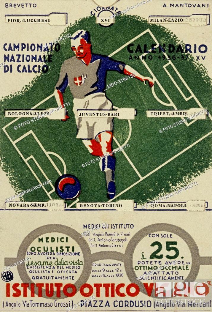 Serie A Calendario.Calendar Of The Serie A Calendario Del Campionato Italiano Di