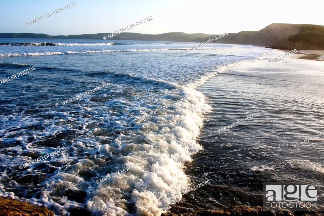 Stock Photo: Point Reyes National Seashore, California USA.