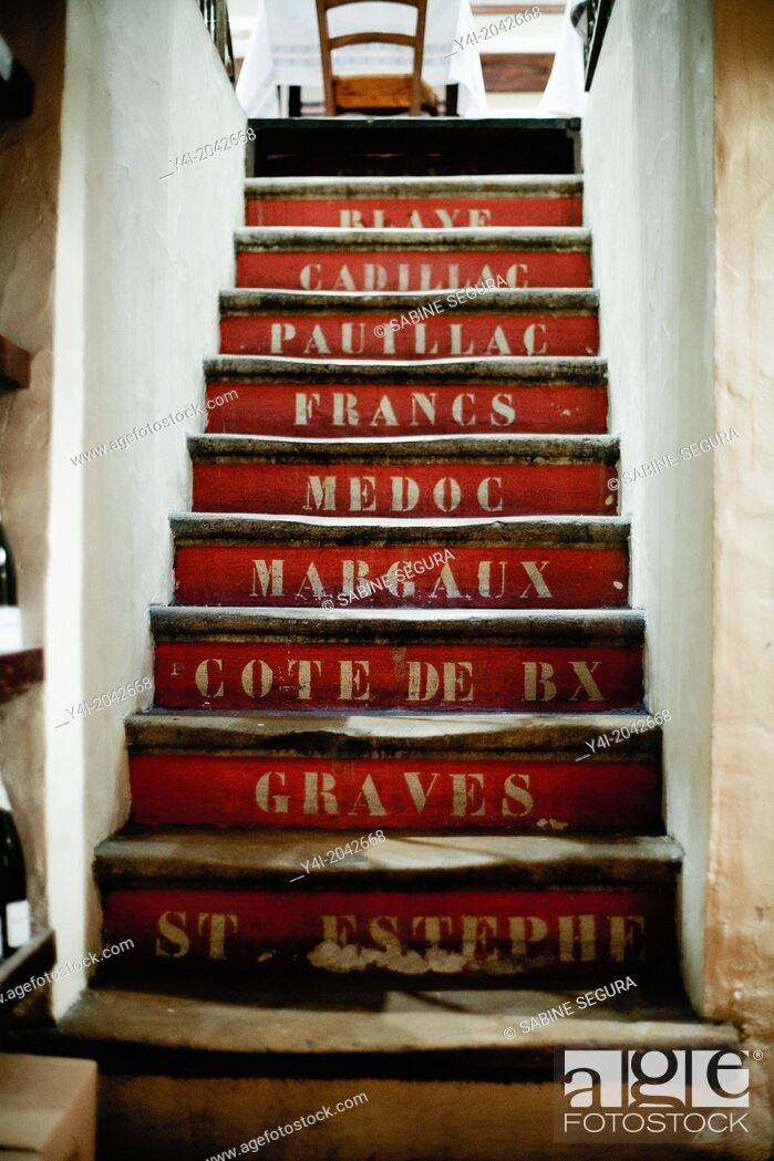 Stock Photo: La Tupina. The greedy street. Bordeaux. Gironde. Aquitaine. France. Europe.