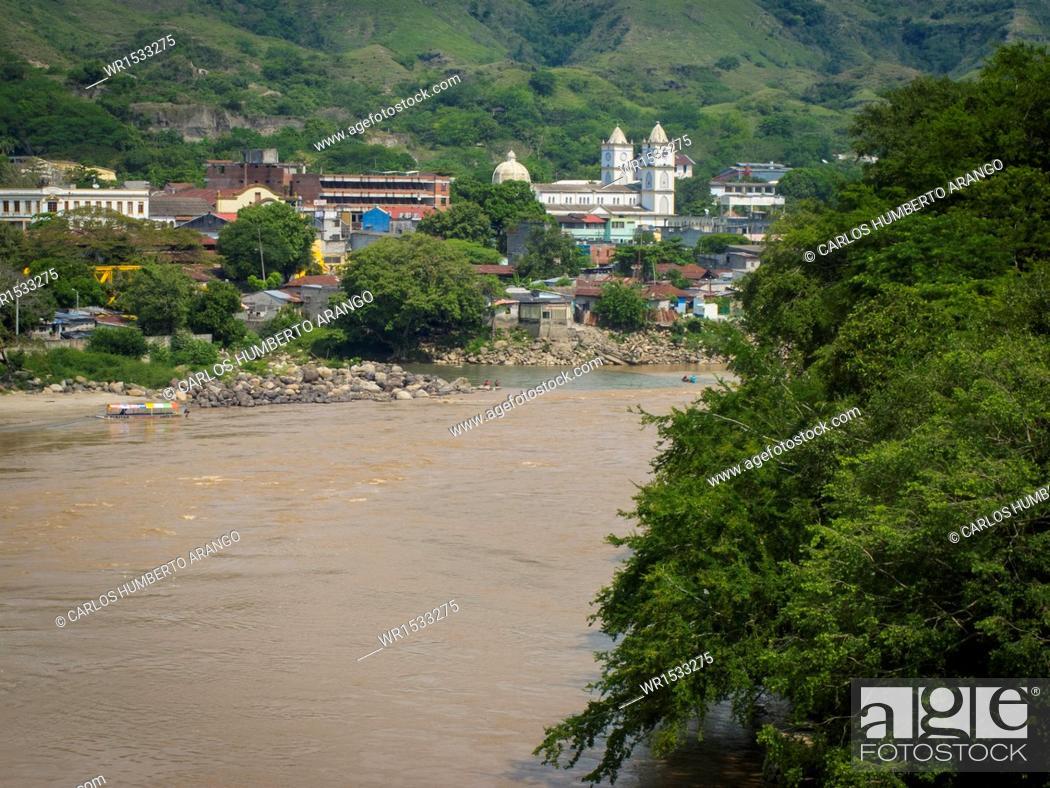 Imagen: Magdalena River, Honda, Tolima, Ibague, Colombia.