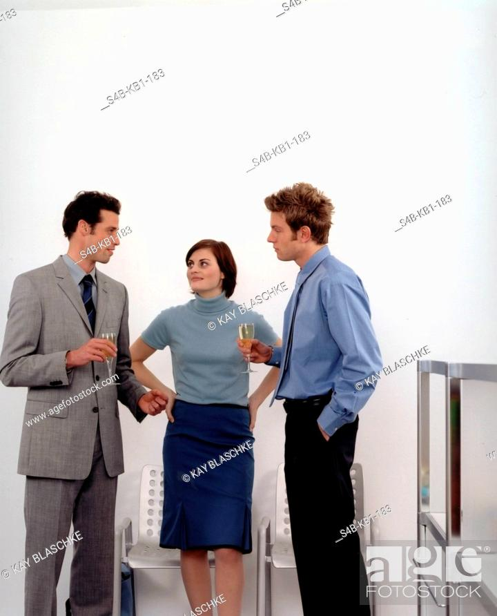 Stock Photo: Business-People.