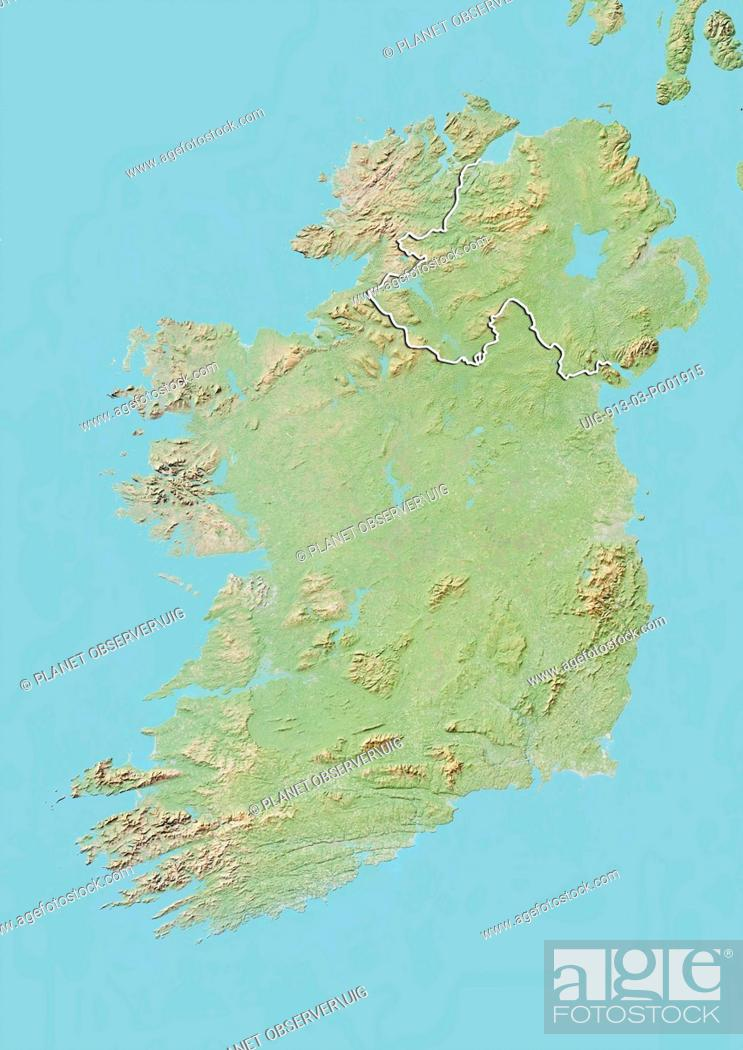 Ireland Elevation Map.Ireland Elevation Map 35248 Timehd
