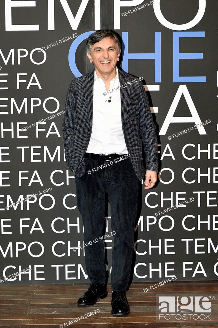 Imagen: Vincenzo Salemme during the tv show Che tempo che fa, Milan, ITALY-14-04-2019.