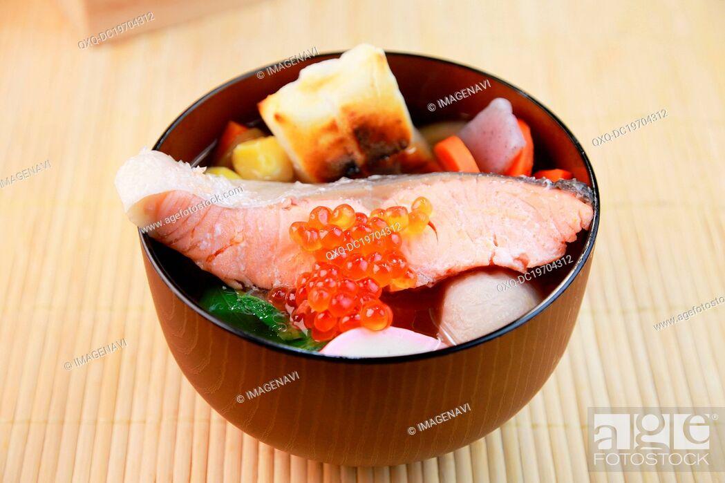 Stock Photo: Niigata Zoni.