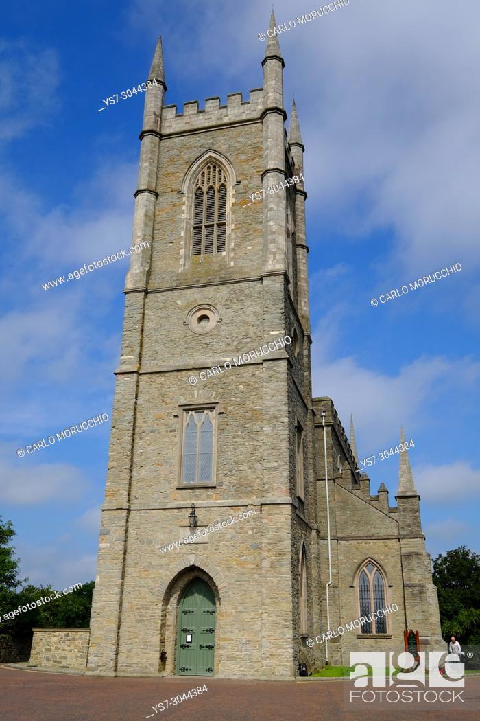 Stock Photo: Down Cathedral, Downpatrick, Northern Ireland.