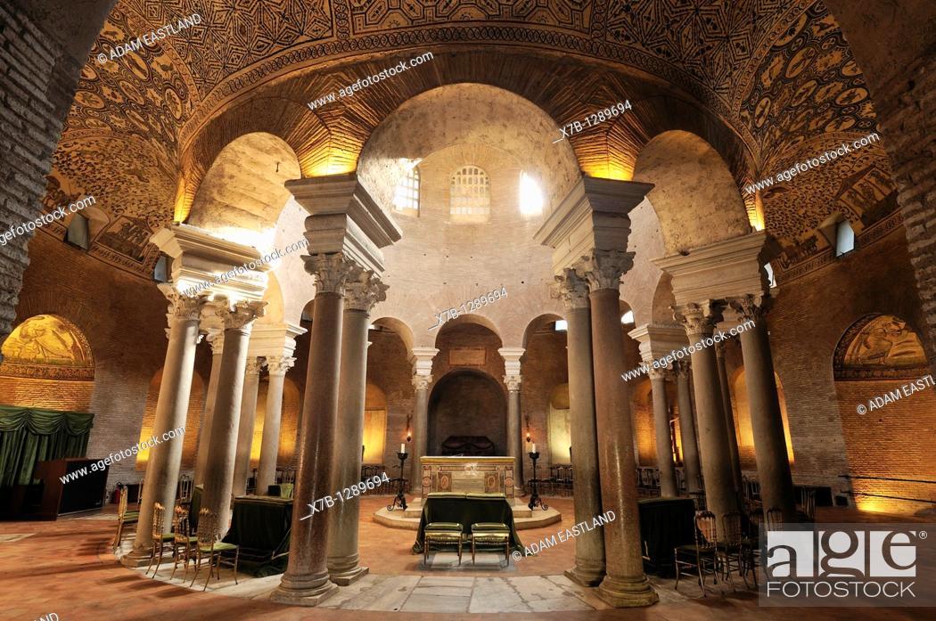Stock Photo: Rome  Italy  Mausoleum of Santa Costanza.