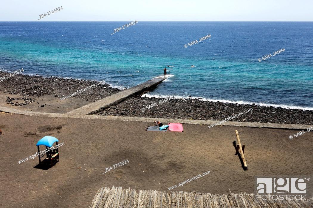 Stock Photo: Las Playas, distrito de El Pinar, El Hierro, Canary Islands, Spain.