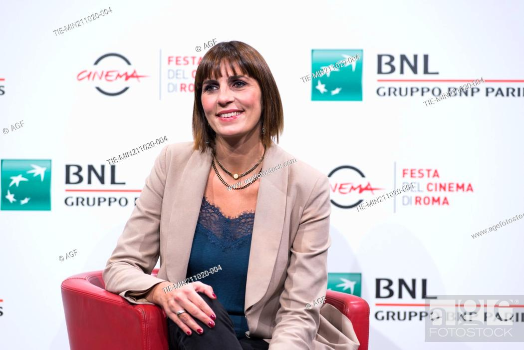 """Stock Photo: Elisa Amoruso attend the photocall of the movie """"""""Maledetta Primavera"""""""" during the 15th Rome Film Festival on October 21, 2020 in Rome, Italy."""