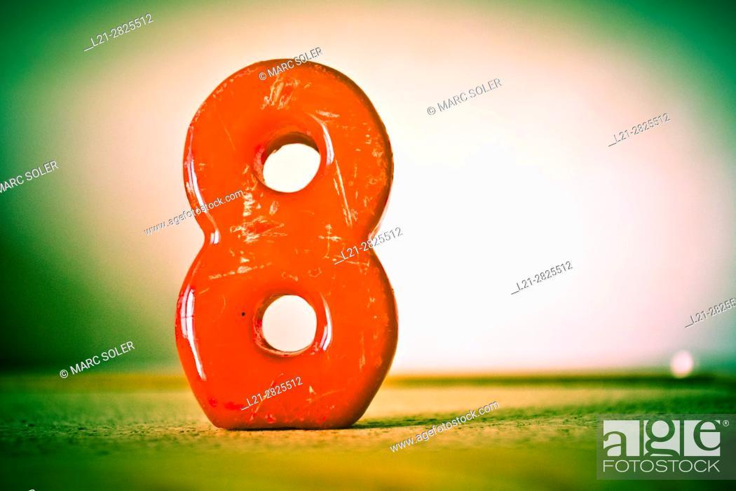 Imagen: Number eight, 8.
