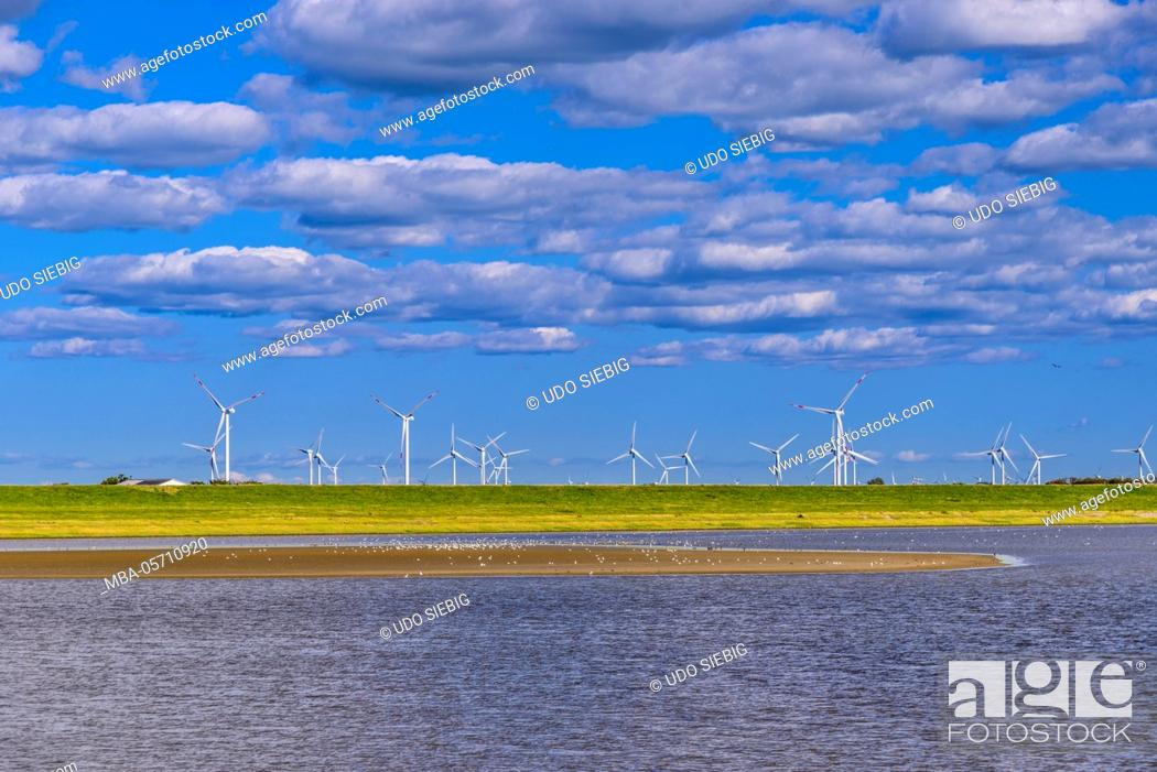 Germany, Schleswig-Holstein, North Frisia, peninsula north beach ...