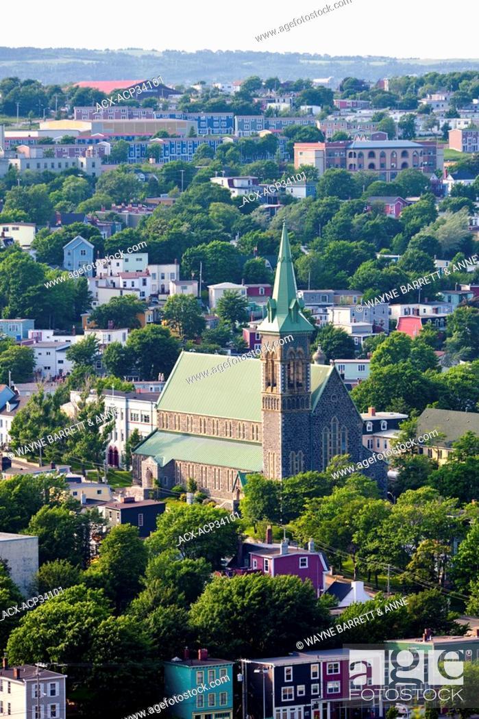 Stock Photo: St. Patrick's Church, St. John's, Newfoundland and Labrador, Canada.