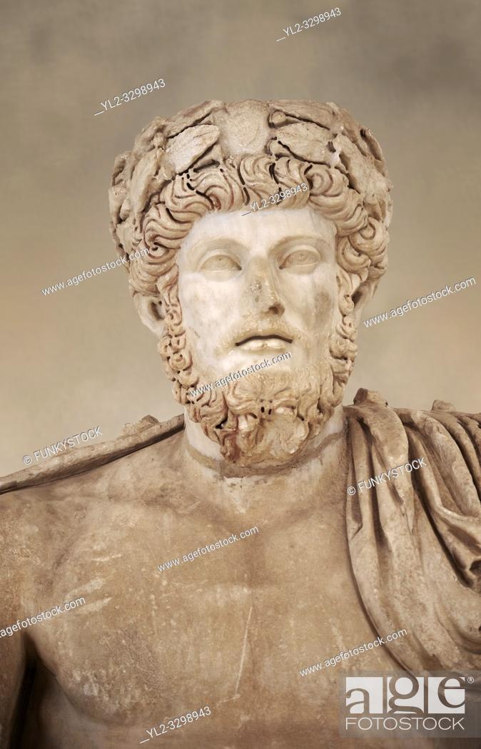 Imagen: Roman sculpture of the Emperor Lucius Verus, excavated from Bulla Regia Theatre, sculpted circa 161-169 AD. The Bardo National Museum, Tunis.