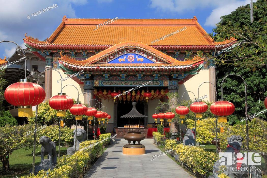 Stock Photo: Malaysia, Penang, Kek Lok Si Temple,.