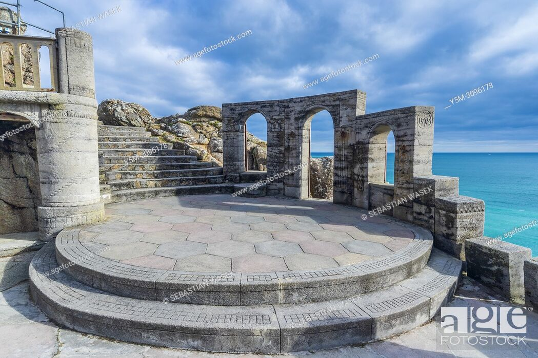 Imagen: Minack Theatre, Porthcurno, Cornwall, England, United Kingdom, Europe.