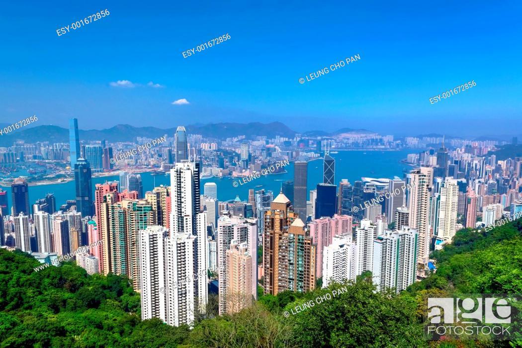 Stock Photo: Hong Kong.