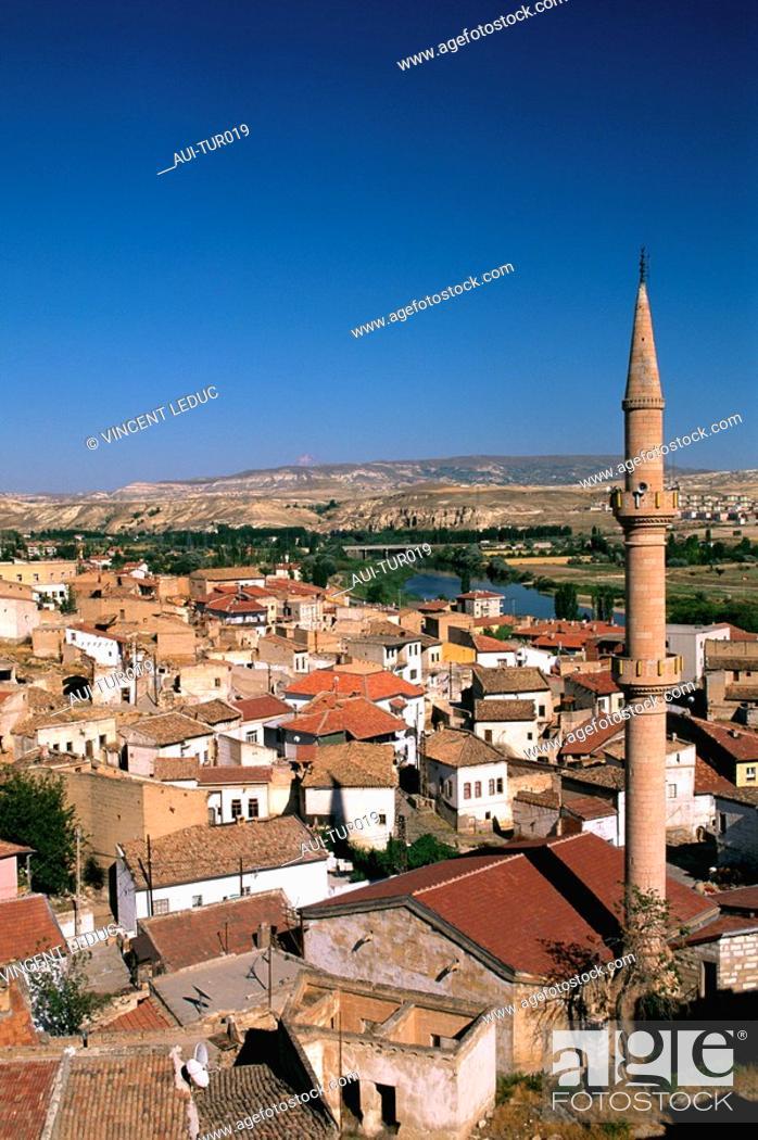 Stock Photo: Turkey - Cappadoce - Avanos.