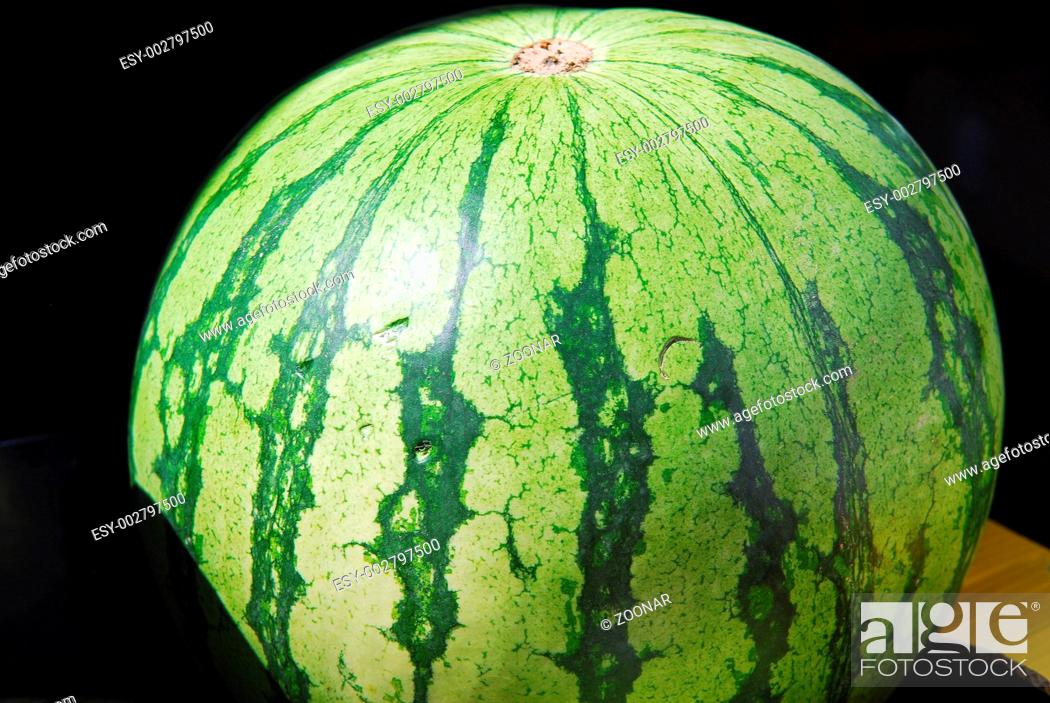 Stock Photo: Melone, Wassermelone, water melon.