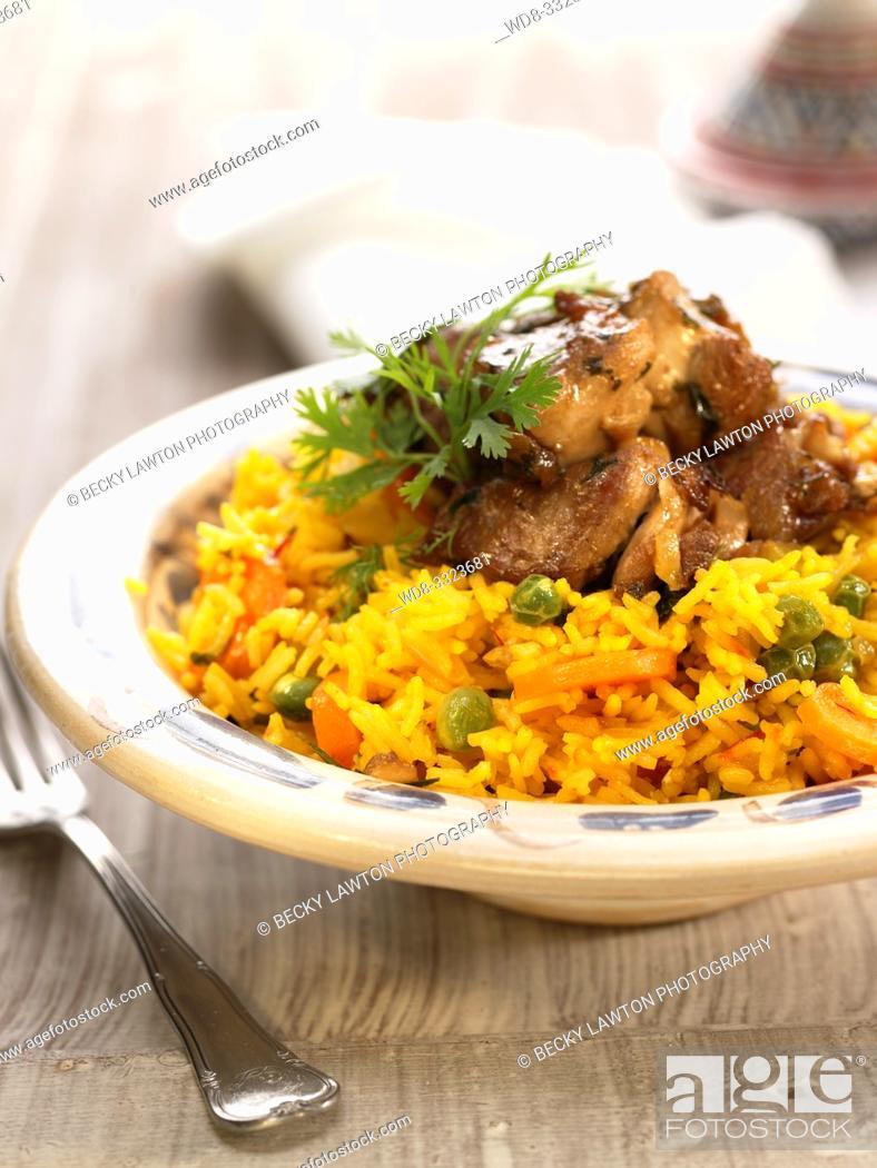 Imagen: arroz con cordero.