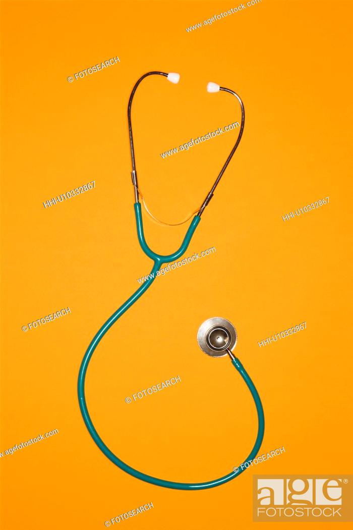 Stock Photo: Still life shot of stethoscope.