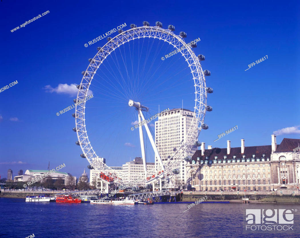 Imagen: London Eye, Southbank London, England, U.K.