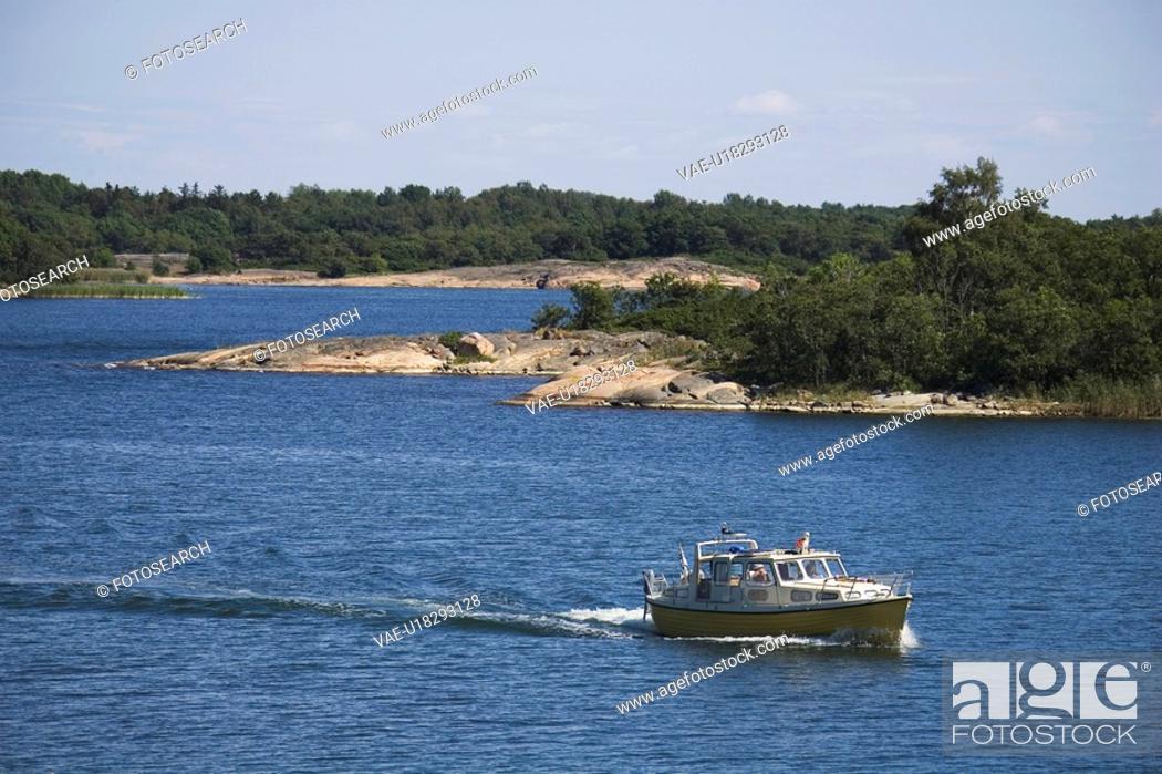 Stock Photo: Blue, Calm, Horizon, Marine.