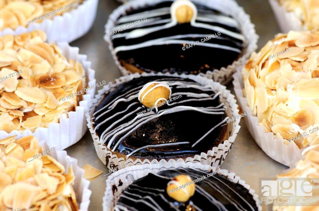Stock Photo: Cakes.