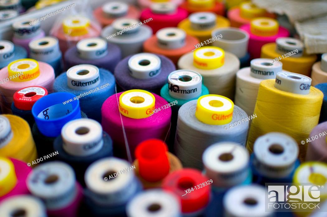 Stock Photo: Italy, Torino, Kristina Ti fashion house.