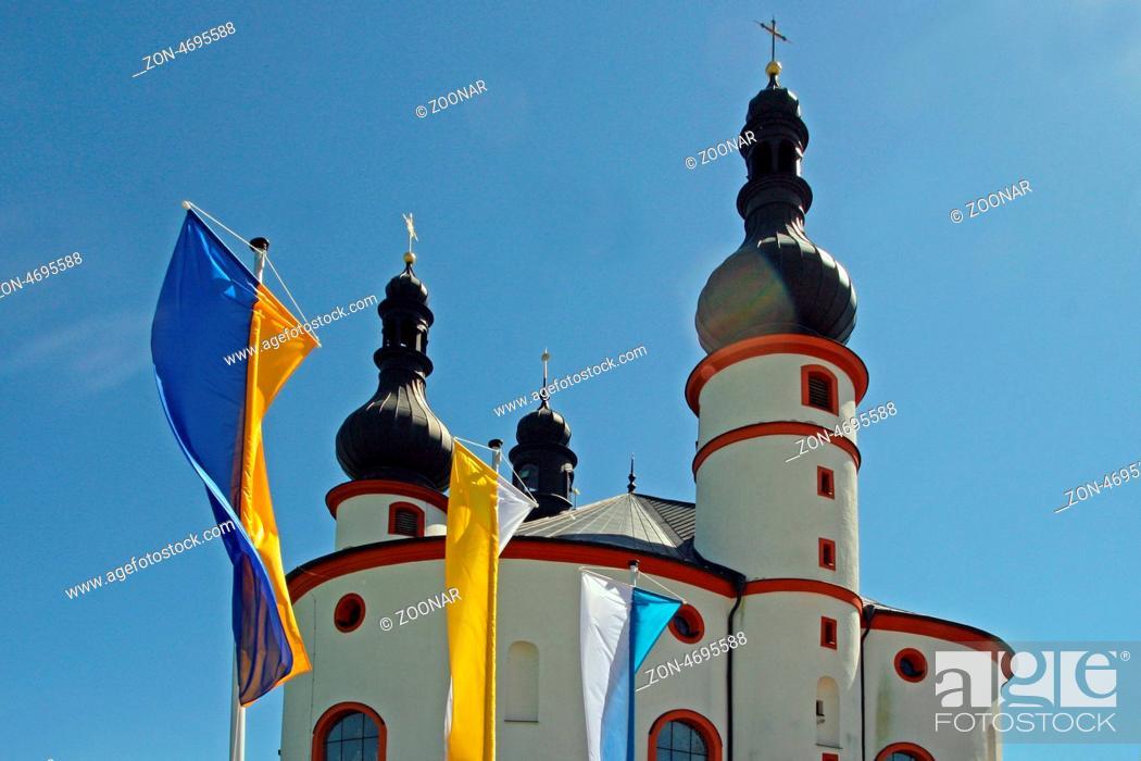 Stock Photo: Church Kappl to Waldsassen.