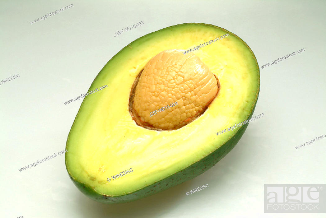 Stock Photo: Food, fruit, avocado.