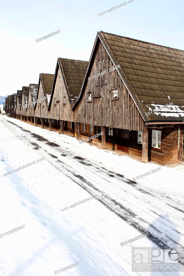 Stock Photo: Uniemysl, Silesia, Poland.