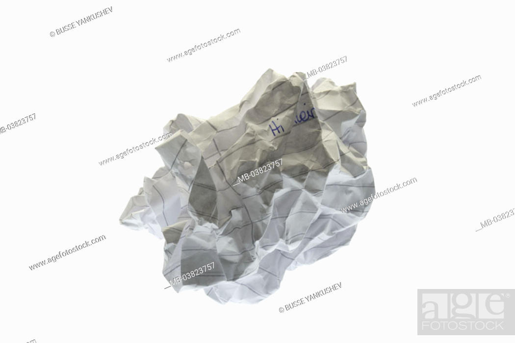 Image result for Paper wad