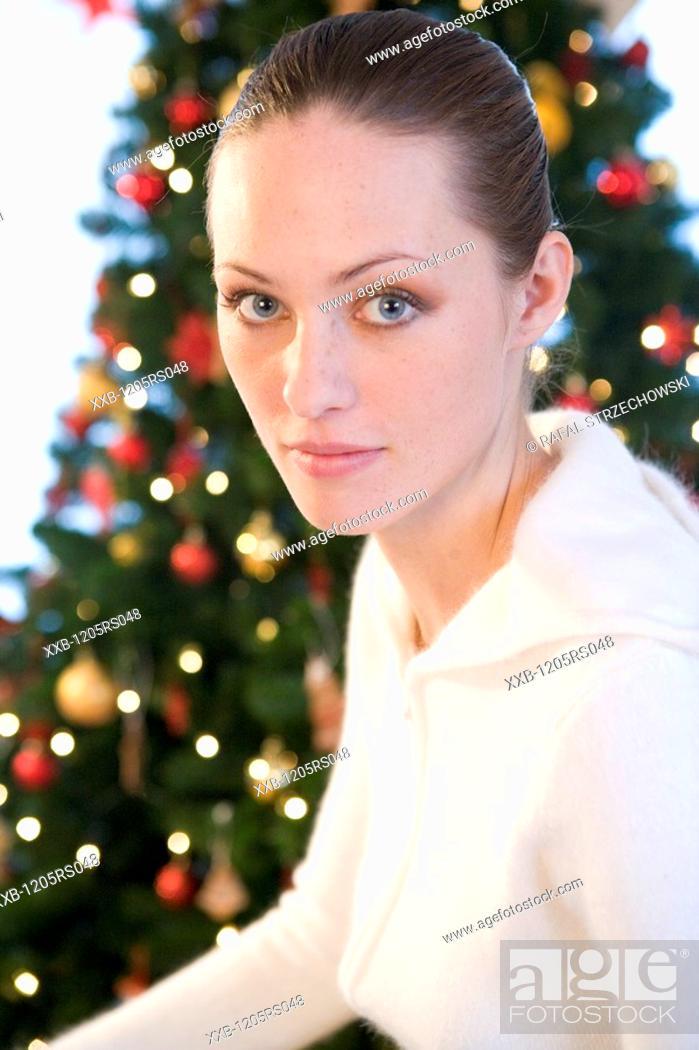Imagen: christmas portrait.