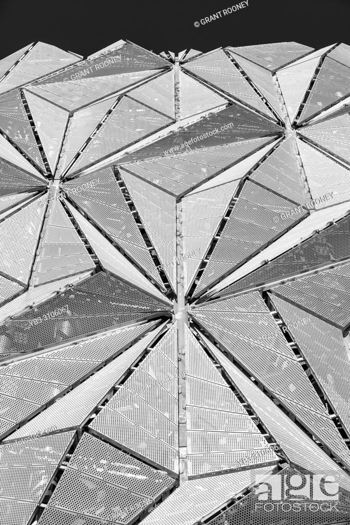 Stock Photo: The Optic Cloak, Greenwich Peninsula, London, United Kingdom.
