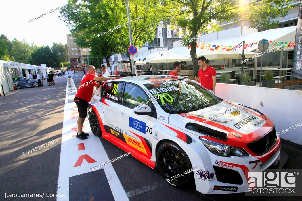 Imagen: M Homola, Peugeot 308 TCR #86, WTCR Race of Portugal, Vila Real 23-25 de June 2018.