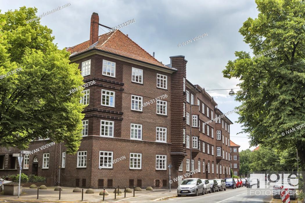 Stock Photo: Vintage building, 1920s, Hanover, Lower Saxony, Germany.