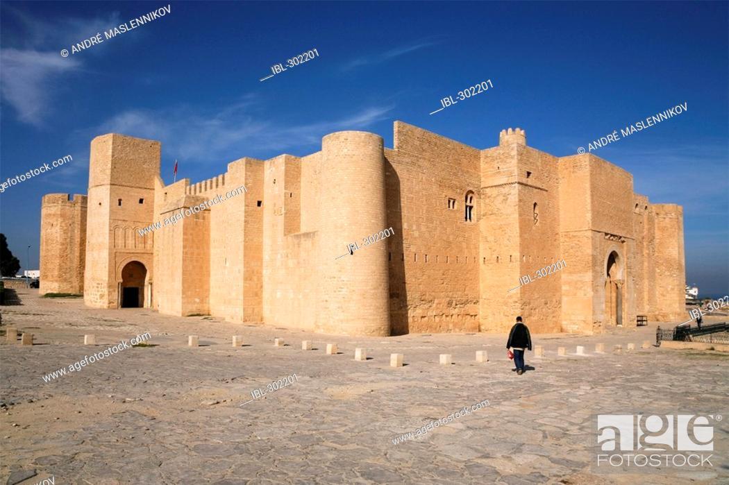 Stock Photo: The Ribat in Monastir. Tunisia.