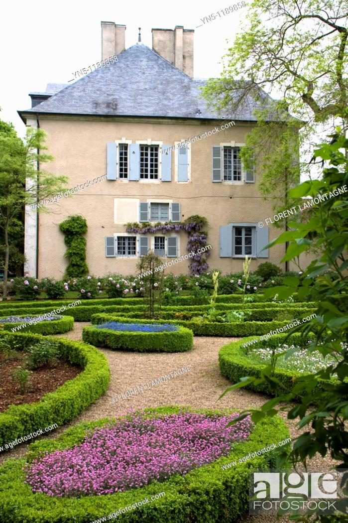 Stock Photo: France, Centre province, Departement of Indre 36, Nohant-Vic   House of the famous french writer George Sand who used to come here with her lover the pianist.