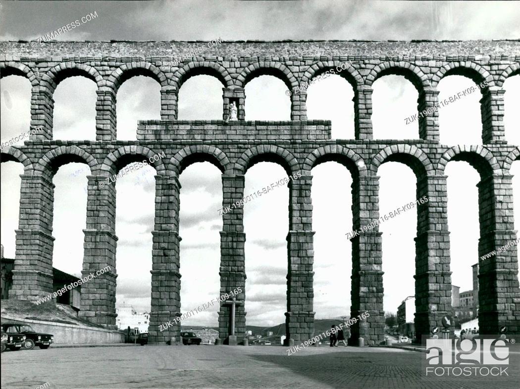 Imagen: 1980 - Segovia, Spain - The Roman Aqueduct. (Credit Image: © Keystone Pictures USA/ZUMAPRESS.com).